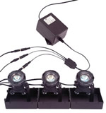 MicroSpot 3 Light Kit with Transformer